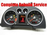 Audi TT Instrument Cluster Repair Service - Upgrade from Basic Rebuild to Complete Rebuild