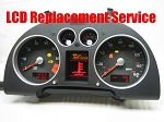 Audi TT Instrument Cluster LCD Service Incl Temp/Fuel Stepper Motors