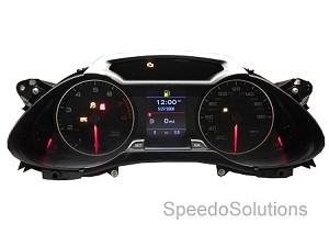 Audi B8 2009+ A4/S4/A5/S5 Premium TFT Instrument Cluster - Upgrade / Replacement + Coding